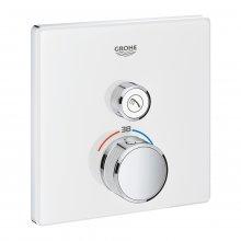 Grohtherm SmartControl - termostat pro podomítkovou instalaci s 1 ventilem, bez podomítkového tělesa, bílá