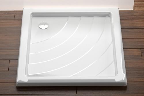 Kaskada - sprchové vaničky čtvercové