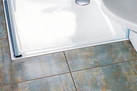 Chrome - sprchové vaničky