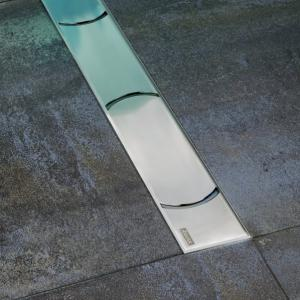 Chrome - odtokové žlaby