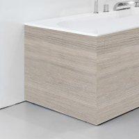 Panel boční 80 satinové dřevo L