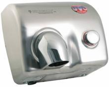 Magnum 88P UVC(s) - osoušeč rukou, UV lampa, tlačítko, nerez satén