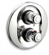 Sprchová termostatická baterie 2-cestný ventil Aquamat chrom
