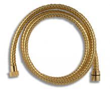 Sprchová hadice plastová, 1,5 m, zlatá