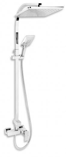 Sprchová souprava + sprchová baterie s horním vývodem 36062 chrom