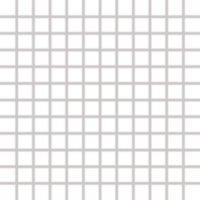 Color Two (WHITE) - dlaždice mozaika 2,5x2,5 bílá matná, mrazuvzdorná