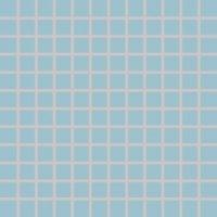 Color Two (RAL 2408015) - dlaždice mozaika 2,5x2,5 modrá matná, mrazuvzdorná