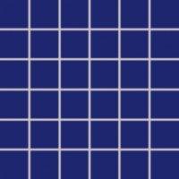 Color Two (RAL 2902035) - dlaždice mozaika 5x5 modrá matná, A, mrazuvzdorná