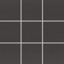 Color Two (RAL 0004000) - dlaždice mozaika 10x10 šedá matná, R10 B