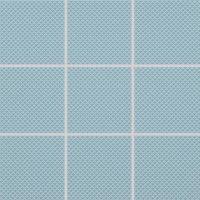 Color Two (RAL 2408015) - dlaždice mozaika 10x10 modrá matná, R10 B, mrazuvzdorná