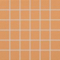 Color Two (RAL 0607050) - dlaždice mozaika 5x5 oranžová matná, R10 B, mrazuvzdorná