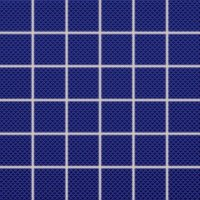 Color Two (RAL 2902035) - dlaždice mozaika 5x5 modrá matná, R10 B, mrazuvzdorná