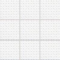 Color Two (WHITE) - dlaždice mozaika 10x10 bílá matná, C, mrazuvzdorná