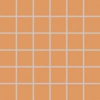 Color Two (RAL 0607050) - dlaždice mozaika 5x5 oranžová matná, mrazuvzdorná