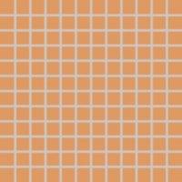 Color Two (RAL 0607050) - dlaždice mozaika 2,5x2,5 oranžová matná, mrazuvzdorná
