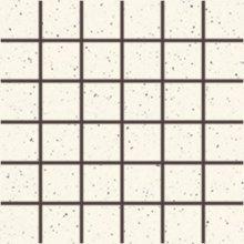 Taurus Granit (60 SF Alaska) - dlaždice mozaika 5x5 bílá, R10 B