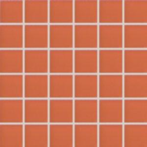 Fashion - obkládačka mozaika 5x5 sklo oranžová