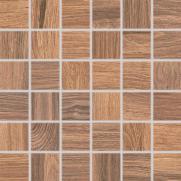 Board - dlaždice mozaika 5x5 hnědá