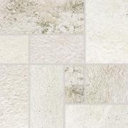 Como - dlaždice dekor 33x33 bílá