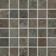 Como - dlaždice mozaika 33x33 hnědočerná