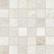 Como - dlaždice mozaika 33x33 bílá