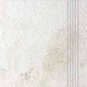 Como - schodovka 33x33 bílá