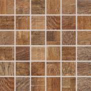 Era - dlaždice mozaika 30x30 červenohnědá