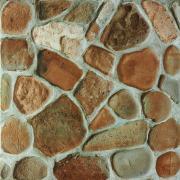 Pebbles - dlaždice 33x33 červenohnědá