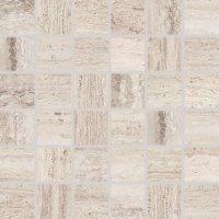 Alba - dlaždice mozaika 5x5 hnědošedá