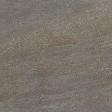 Quarzit - dlaždice rektifikovaná 80x80 hnědá matná
