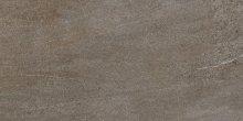 Quarzit - dlaždice rektifikovaná 40x80 hnědá matná