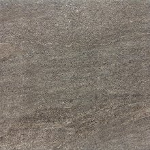 Quarzit - dlaždice rektifikovaná 60x60 hnědá matná reliéfní