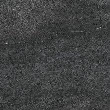 Quarzit - dlaždice rektifikovaná 60x60 černá leštěná