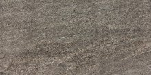 Quarzit - dlaždice rektifikovaná 30x60 hnědá matná reliéfní