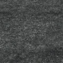 Quarzit - dlaždice rektifikovaná 20x20 černá matná reliéfní