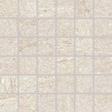 Quarzit - dlaždice mozaika 5x5 béžová matná reliéfní