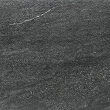 Quarzit Outdoor - dlaždice rektifikovaná 60x60, 2 cm černá matná reliéfní