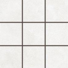 Betonico - dlaždice rektifikovaná 10x10 bílošedá