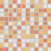 Samba - dlaždice mozaika 2,5x2,5 vícebarevná