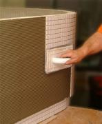 Fuga 180x80 tifa panel rohový