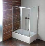 Deep 100 sprchové dveře 1000x1500 mm, čiré sklo