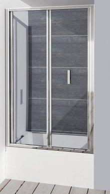 Deep sprchové dveře skládací 1000x1650 mm, čiré sklo