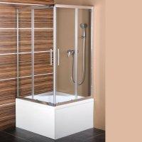 Carmen sprchová čtvercová zástěna 900x900x1650mm, čiré sklo