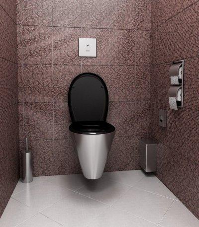 infračervené splachovače WC