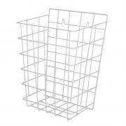SLZN 40 - Drátěný koš, rozměr 350x290x150 mm, bílý