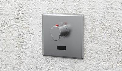 infračervené ovládání sprch