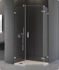 PUR51 - ATYP jednokřídlé dveře pravé pro pětiúhelník 45-100, výška do 200 cm