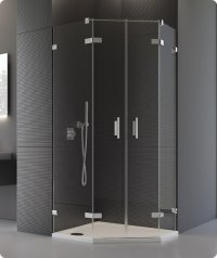 PUR52 - ATYP dvoukřídlé dveře pro pětiúhelník 45-100