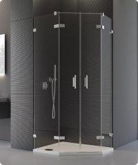 PUR52 - ATYP dvoukřídlé dveře pro pětiúhelník 45-100, výška do 200 cm