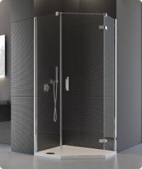PUT51P - ATYP boční stěna pro pětiúhelník 30-100, výška do 200 cm, profil